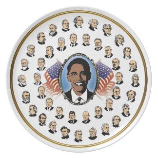 Barack Obama - Presidents Of The United States Plate