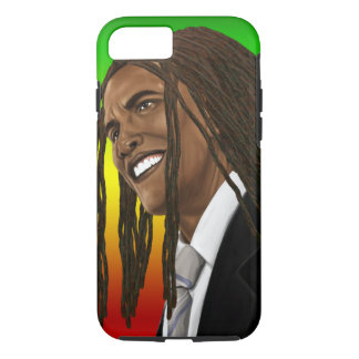 Barack Obama Rasta Reggae iPhone iPhone 7 Case