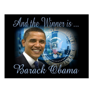 Barack Obama Re-election Postcard