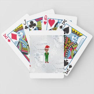 barack obama santa bicycle playing cards
