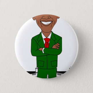 barack obama santa claus 2 inch round button
