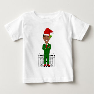 barack obama santa claus baby T-Shirt