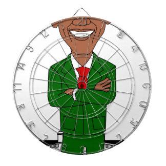 barack obama santa claus dartboard