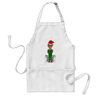 barack obama santa claus standard apron