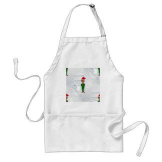 barack obama santa standard apron