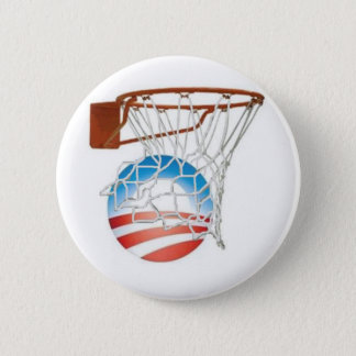 Barack Obama Scores in 2012! 2 Inch Round Button
