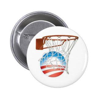 Barack Obama Scores in 2012! Pinback Button