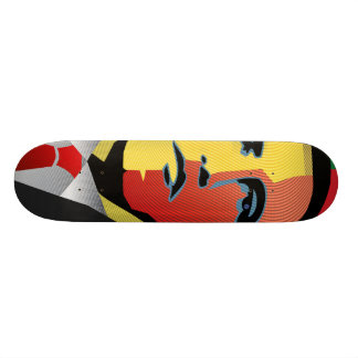 Barack Obama Skateboard Old School 21,6 Cm