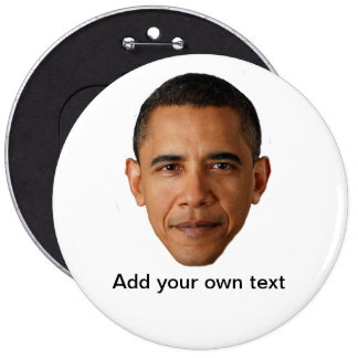Barack Obama Template Pin