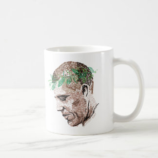 Barack Obama Typographic Coffee Mug