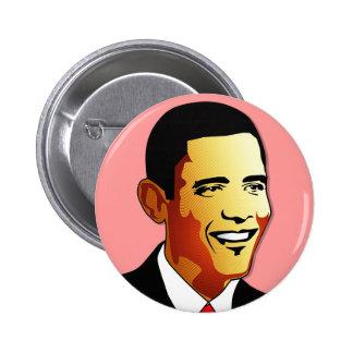 Barack Obama Vector Illustration Pins