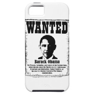 Barack Obama Wanted Poster iPhone 5 Case
