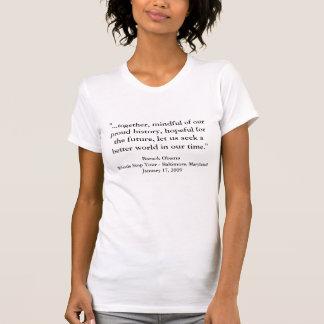 Barack Obama Whistle Stop Speech Shirts