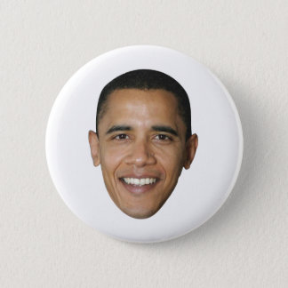 Barack Obama's Face 2 Inch Round Button