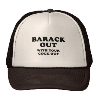 Barack Out Trucker Hat
