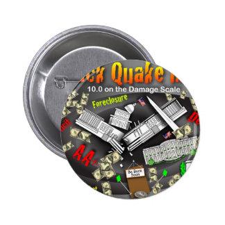 Barack Quake Rocks DC 2 Inch Round Button