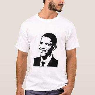 """Barack """"que nous pouvons changer """" t-shirt"""