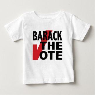 Barack the Vote Baby T-Shirt