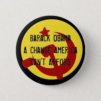 BarackObamaschange, Barack ObamaA Change Americ... 2 Inch Round Button