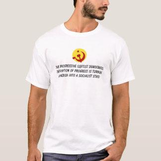 BarackObamaschange, The Progressive (Leftist De... T-Shirt