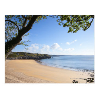 Barafundle Bay Pembroke Pembrokeshire Coast Postcard