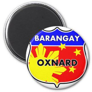 Barangay Oxnard Refrigerator Magnet