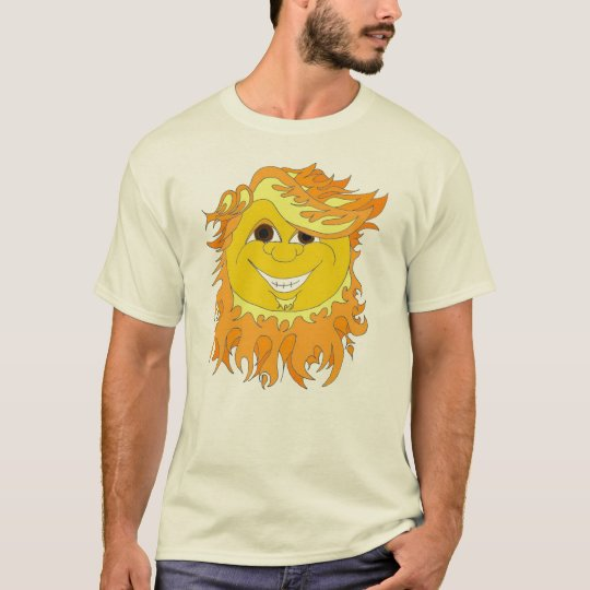 Barba Sol - The Bearded Sun T-Shirt