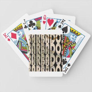 barbados1758 bicycle playing cards