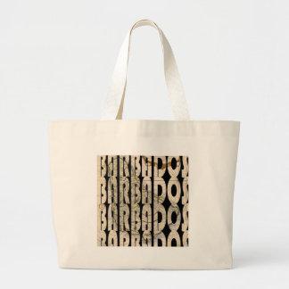 barbados1758 large tote bag
