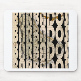 barbados1758 mouse pad