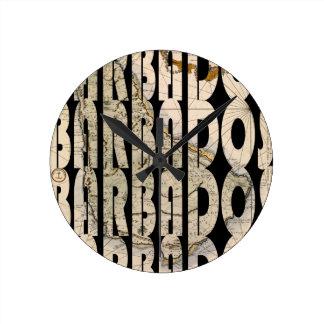 barbados1758 round clock