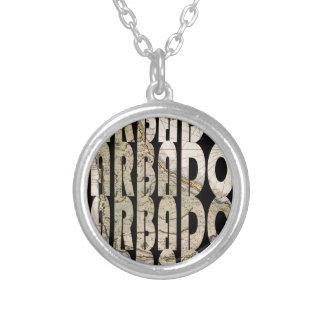 barbados1758 silver plated necklace