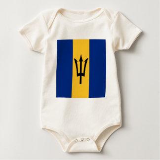 Barbados all over design baby bodysuit