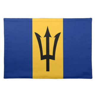 Barbados all over design placemats