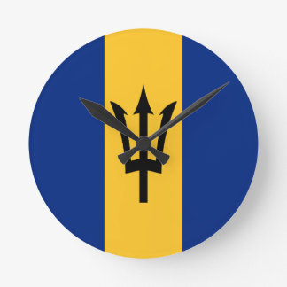 Barbados all over design wall clock