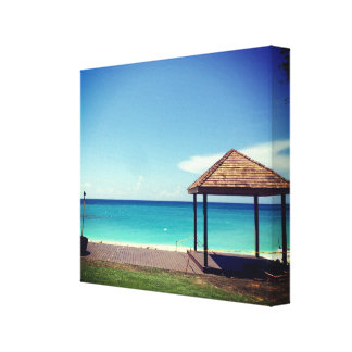 Barbados Beach Canvas