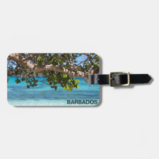 Barbados Beach Scenery Luggage Tag