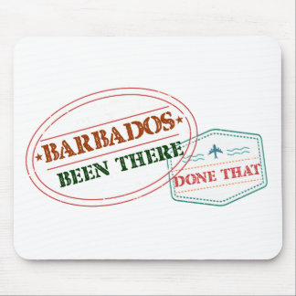 Barbados Been There Done That Mouse Pad