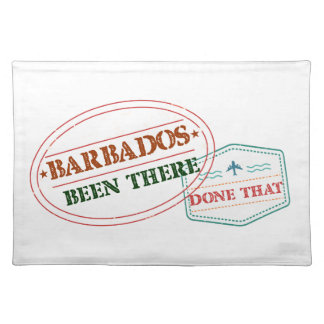 Barbados Been There Done That Place Mat