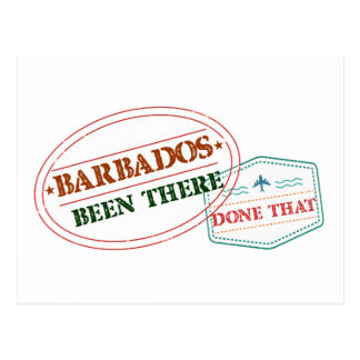 Barbados Been There Done That Postcard