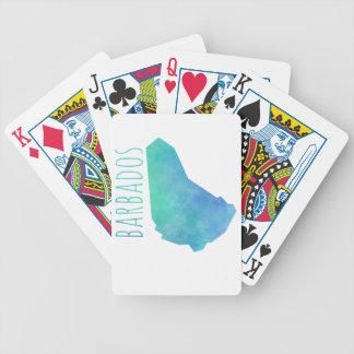 Barbados Bicycle Playing Cards