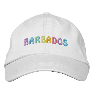 BARBADOS cap Embroidered Hats