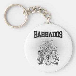 Barbados Coat of Arms Keychain