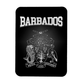 Barbados Coat of Arms Magnet