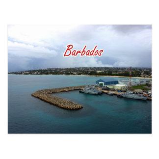 Barbados Dock PostCard