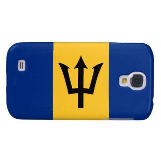 Barbados Flag Samsung Galaxy S4 Cover