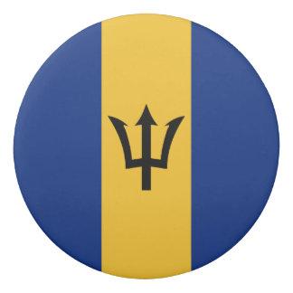 Barbados Flag Eraser