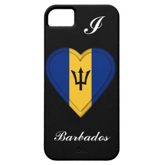 Barbados Flag iPhone 5 Cases
