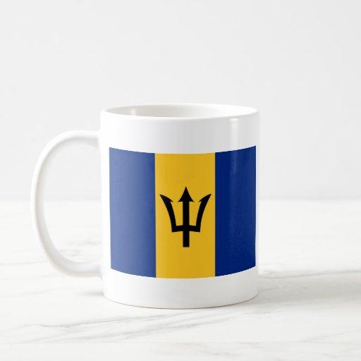Barbados Flag ~ Map Mug