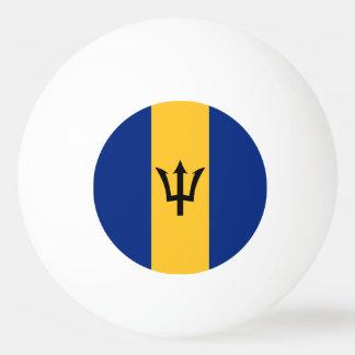 Barbados Flag Ping Pong Ball